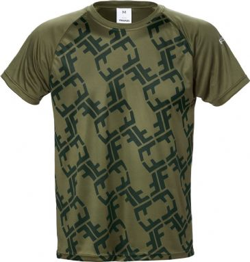 Fristads T-Shirt 7456 LKN (Army Green)